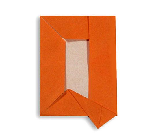 おりがみくらぶ(新宮文明)さんによるQ(きゅー)の折り紙