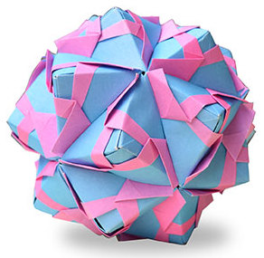 おりがみくらぶ(新宮文明)さんによるパターン1の折り紙