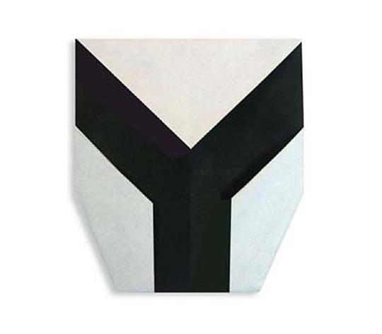 おりがみくらぶ(新宮文明)さんによるY(わい)の折り紙