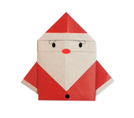 おりがみくらぶ(新宮文明)さんによるさんた2の折り紙