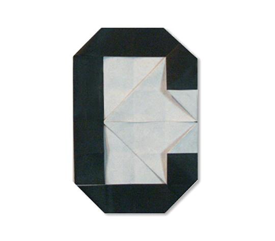 おりがみくらぶ(新宮文明)さんによるC(しー)の折り紙