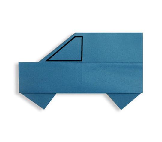 おりがみくらぶ(新宮文明)さんによるくるまの折り紙