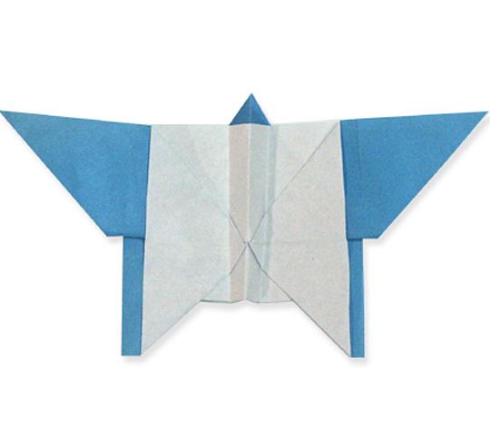 おりがみくらぶ(新宮文明)さんによるちょうちょ2の折り紙