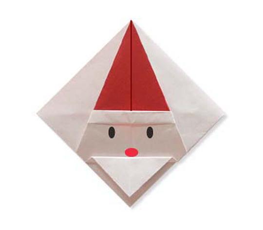 おりがみくらぶ(新宮文明)さんによるさんたこーすたーの折り紙