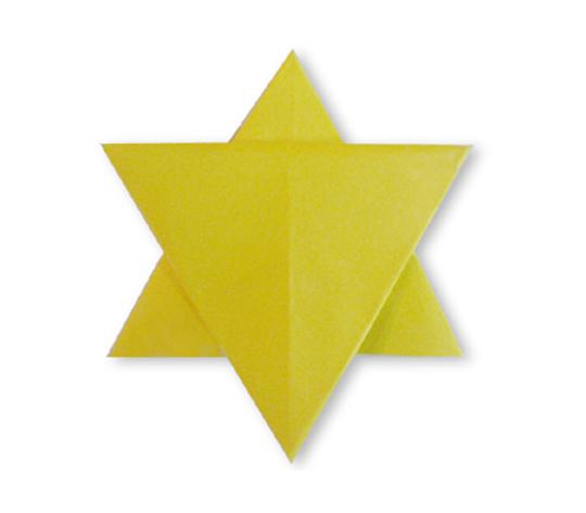 おりがみくらぶ(新宮文明)さんによるいちまいぼし2の折り紙
