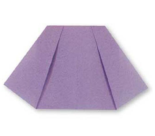 おりがみくらぶ(新宮文明)さんによるすかーとの折り紙
