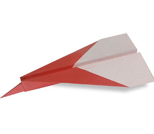 おりがみくらぶ(新宮文明)さんによるじぇっときの折り紙