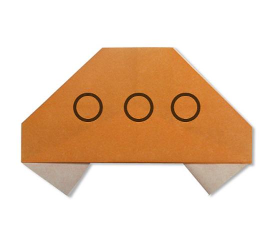 おりがみくらぶ(新宮文明)さんによるUFOの折り紙