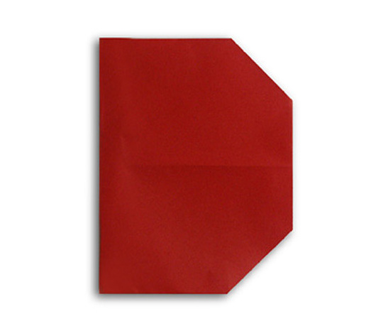 おりがみくらぶ(新宮文明)さんによるD(でー)の折り紙