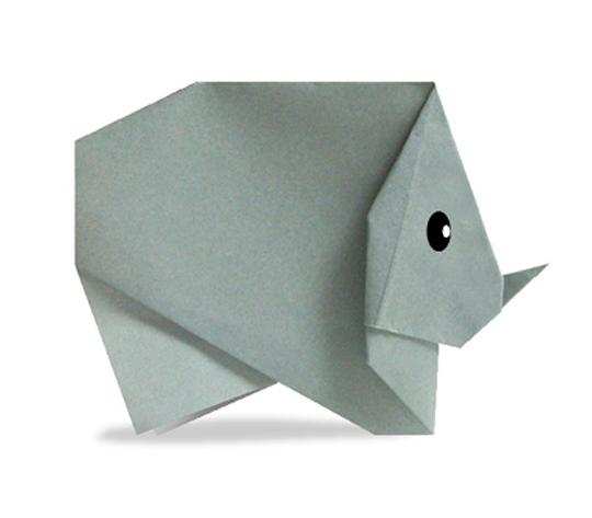 おりがみくらぶ(新宮文明)さんによるさいの折り紙