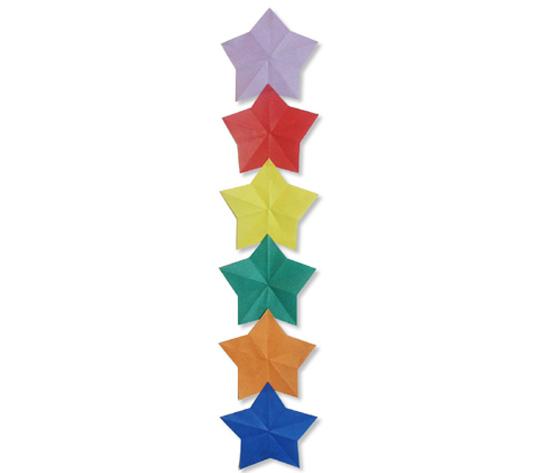 おりがみくらぶ(新宮文明)さんによるほしつづり1の折り紙