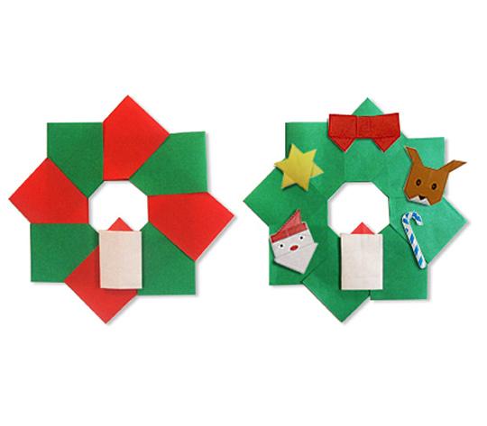 おりがみくらぶ(新宮文明)さんによるりーす2の折り紙