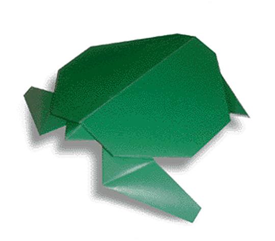 おりがみくらぶ(新宮文明)さんによるうみがめの折り紙