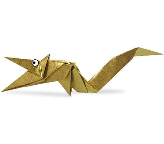 おりがみくらぶ(新宮文明)さんによるりゅうの折り紙