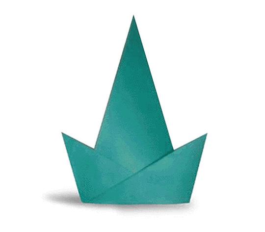 おりがみくらぶ(新宮文明)さんによるぱーてぃぼうの折り紙