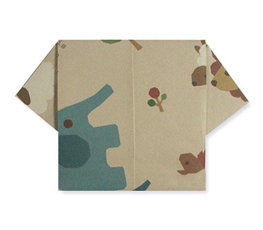 おりがみくらぶ(新宮文明)さんによるおりがみてがみ てぃしゃつの折り紙