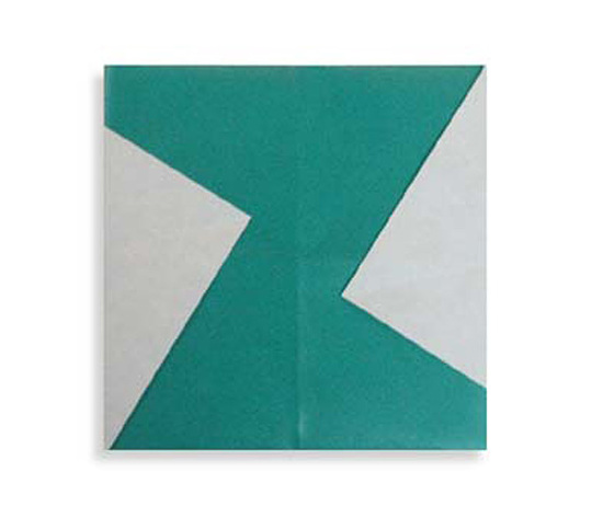 おりがみくらぶ(新宮文明)さんによるZ(ぜっと)の折り紙