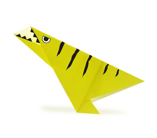 おりがみくらぶ(新宮文明)さんによるでいのにくすの折り紙
