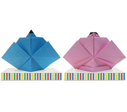 おりがみくらぶ(新宮文明)さんによるひな人形3の折り紙