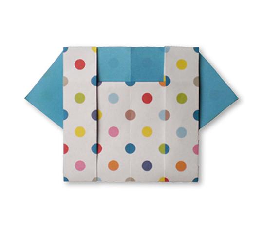 おりがみくらぶ(新宮文明)さんによるぶらうす2の折り紙