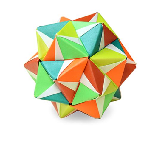 おりがみくらぶ(新宮文明)さんによるパターン3の折り紙