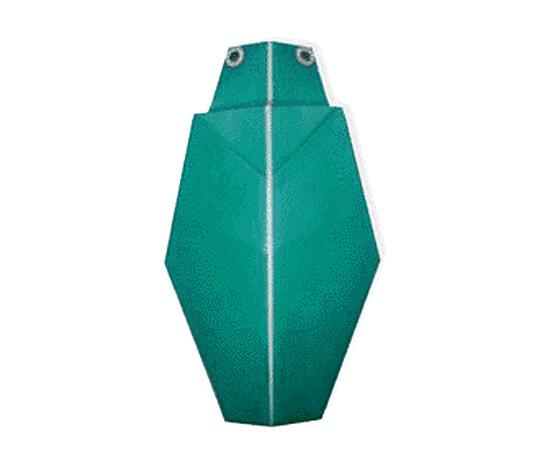 おりがみくらぶ(新宮文明)さんによるたまむしの折り紙