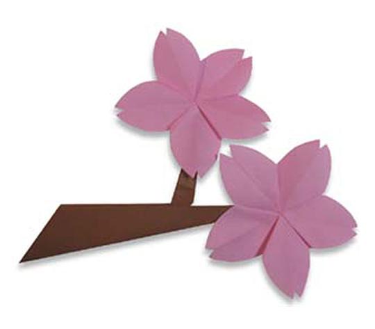 おりがみくらぶ(新宮文明)さんによるさくらの折り紙