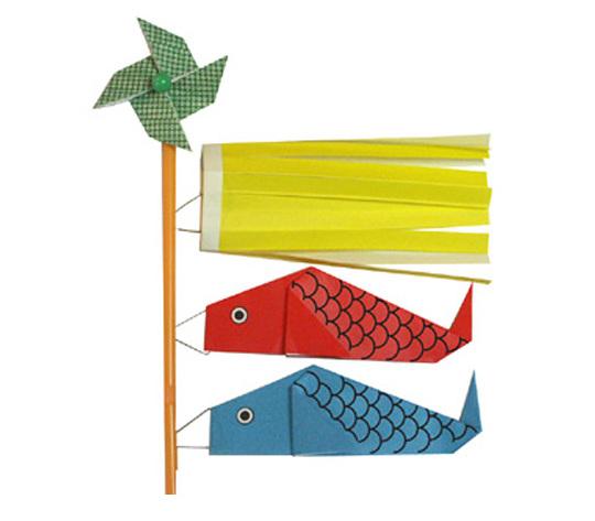 おりがみくらぶ(新宮文明)さんによるこいのぼり2の折り紙