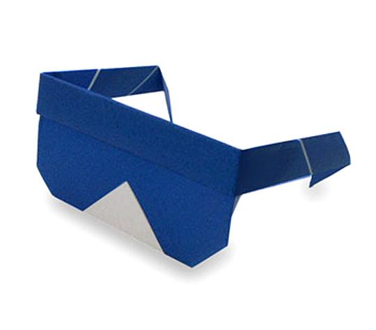 おりがみくらぶ(新宮文明)さんによるさんぐらすの折り紙