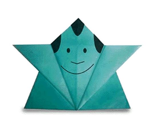 オリカタ公式さんによる《伝承》ふくすけの折り紙