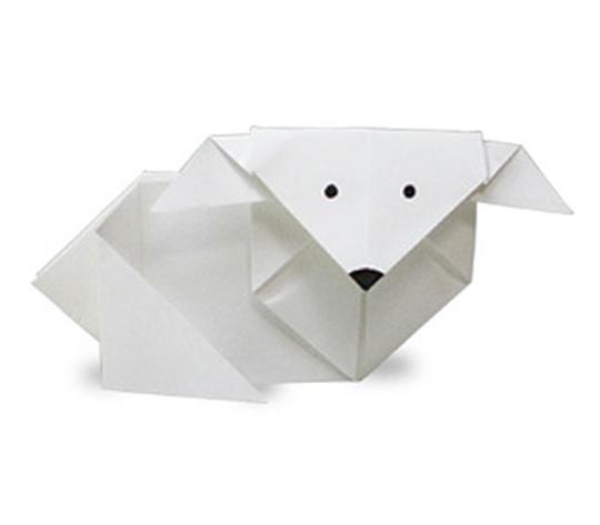 おりがみくらぶ(新宮文明)さんによるやぎの折り紙