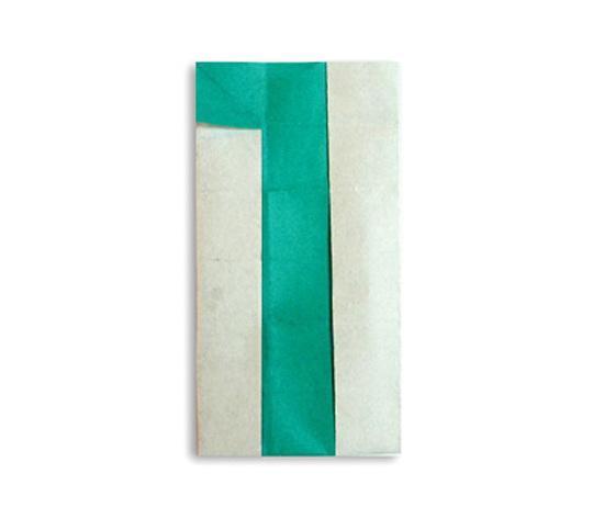 おりがみくらぶ(新宮文明)さんによる1(いち)の折り紙
