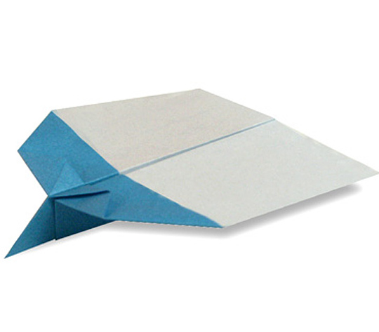 おりがみくらぶ(新宮文明)さんによるひこうき3の折り紙