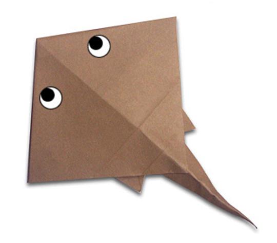 おりがみくらぶ(新宮文明)さんによるえいの折り紙