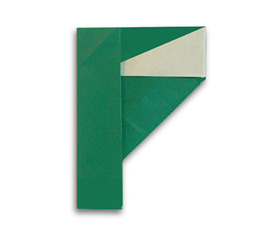 おりがみくらぶ(新宮文明)さんによるF(えふ)の折り紙