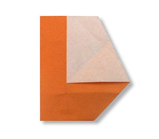 おりがみくらぶ(新宮文明)さんによるL(える)の折り紙