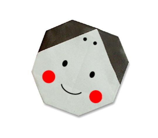 おりがみくらぶ(新宮文明)さんによるふくの折り紙