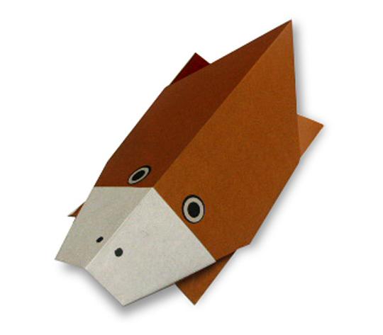 おりがみくらぶ(新宮文明)さんによるかものはしの折り紙