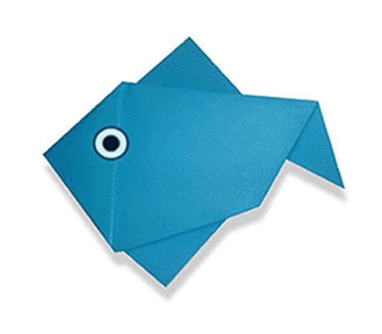 おりがみくらぶ(新宮文明)さんによるさかなの折り紙