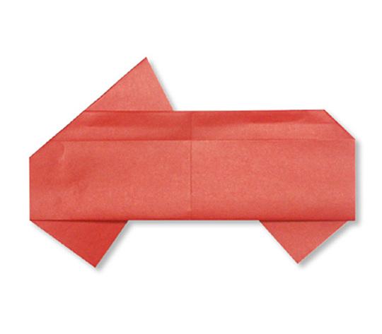 おりがみくらぶ(新宮文明)さんによるおーぷんかーの折り紙
