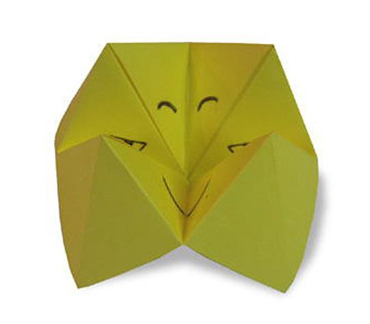 おりがみくらぶ(新宮文明)さんによるぱくぱくの折り紙