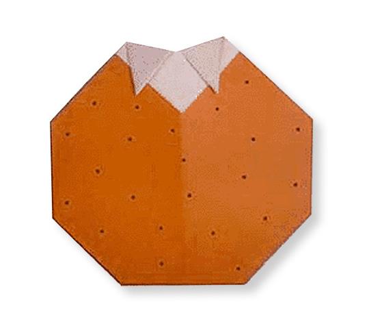 おりがみくらぶ(新宮文明)さんによるかきの折り紙
