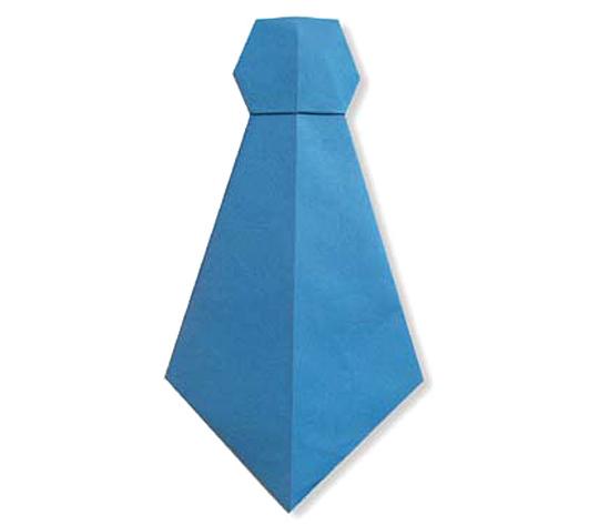 おりがみくらぶ(新宮文明)さんによるねくたいの折り紙