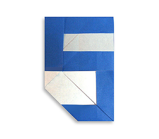 おりがみくらぶ(新宮文明)さんによる5(ご)の折り紙