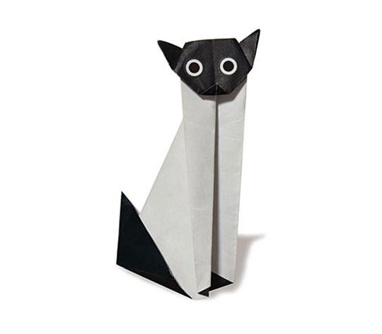 おりがみくらぶ(新宮文明)さんによるしゃむねこの折り紙