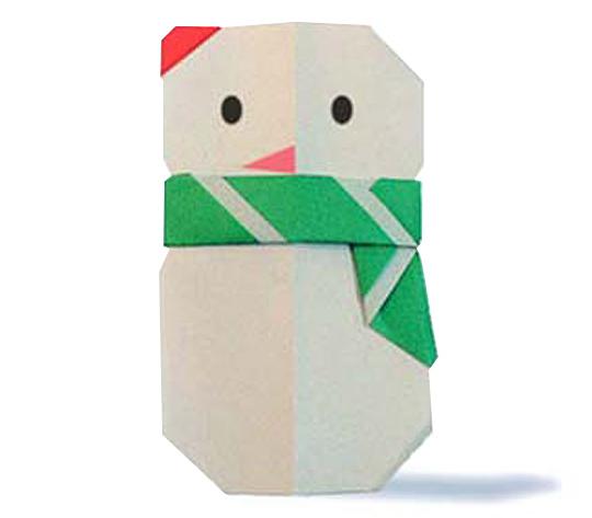 おりがみくらぶ(新宮文明)さんによるまふらーの折り紙