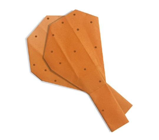 おりがみくらぶ(新宮文明)さんによるふらいどちきんの折り紙