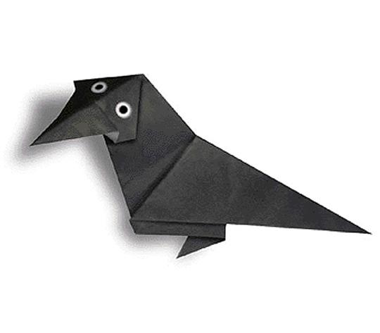 おりがみくらぶ(新宮文明)さんによるからすの折り紙