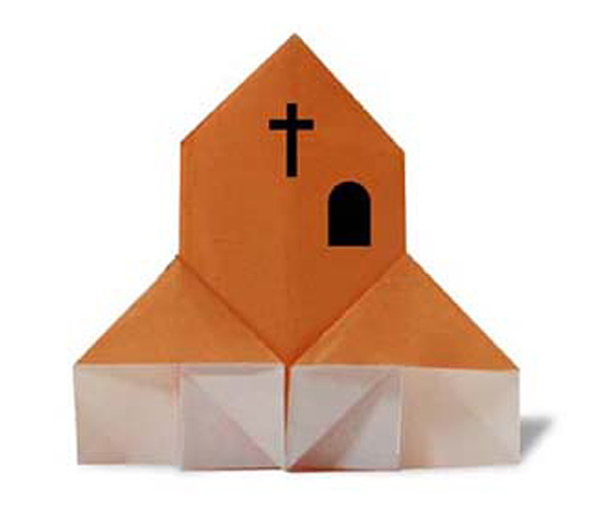 おりがみくらぶ(新宮文明)さんによるきょうかいの折り紙