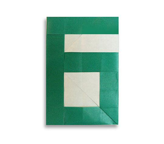 おりがみくらぶ(新宮文明)さんによる6(ろく)の折り紙